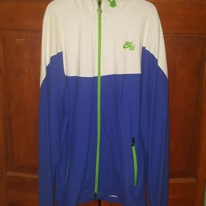 Nike Air zip-up hoodie jacket | sz XL